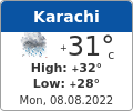 Latest Karachi Pakistan Weather