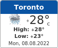 Latest Weather in Toronto