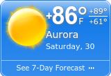 What's On In Aurora