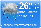 Weer Grand Canyon