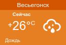 Погода в Весьегонске