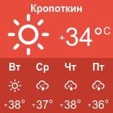 Погода в Кропоткине