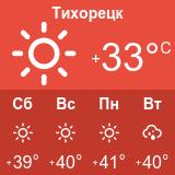 Погода в Тихорецке