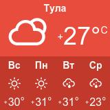 Погода в Туле