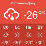 Погода в Ростове-на-Дону