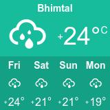 bhimtal weather