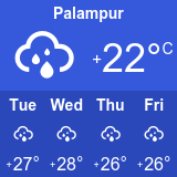 palampur weather