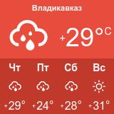 Погода во Владикавказе