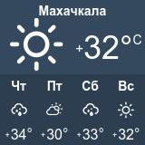 погода а махачкале на месяц