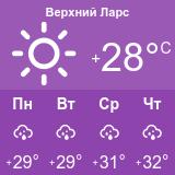 Погода на перевале Верхний Ларс