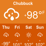 Chubbuck Weather - Today and next 4 day forecast