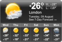 Booked.net weather