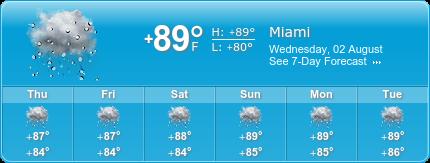 Little Havana  Moving Insurance weather