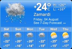 Zamárdi weather