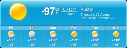 East Austin Insurance weather