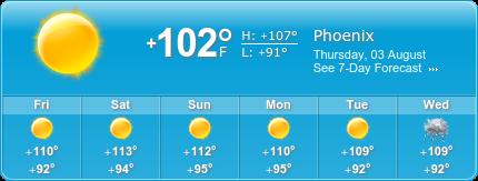 Desert Ridge Insurance weather