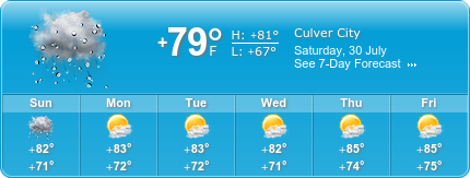 Culver City Insurance weather
