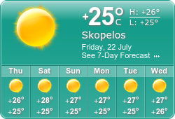 Map Of Skopelos